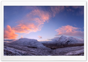 Scottish Highland Winter HD Wide Wallpaper for Widescreen