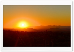 Scottsdale Sunset HD Wide Wallpaper for Widescreen