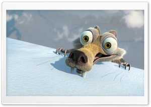 Scrat Ice Age HD Wide Wallpaper for Widescreen