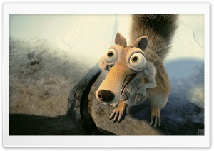 Scrat In Love Ice Age Ultra HD Wallpaper for 4K UHD Widescreen desktop, tablet & smartphone