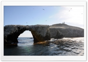 Sea Arch HD Wide Wallpaper for Widescreen