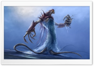 Sea Demon HD Wide Wallpaper for Widescreen