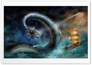 Sea Dragon HD Wide Wallpaper for Widescreen