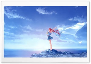 Sea Girl HD Wide Wallpaper for Widescreen