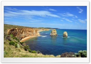 Sea Landscape In Australia HD Wide Wallpaper for Widescreen