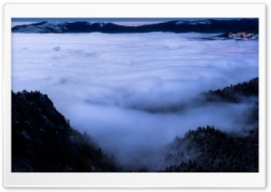 Sea of Clouds View Point Beautiful Landscape HD Wide Wallpaper for 4K UHD Widescreen desktop & smartphone