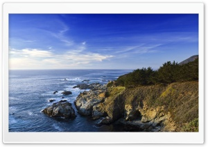 Sea Panoramic View Ultra HD Wallpaper for 4K UHD Widescreen desktop, tablet & smartphone