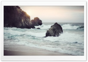 Sea Rock HD Wide Wallpaper for Widescreen