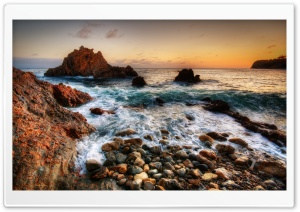Sea Shore, HDR HD Wide Wallpaper for Widescreen