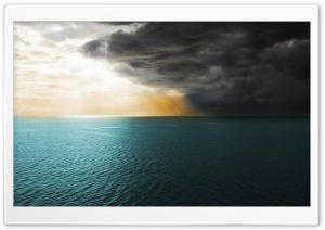 Sea Storm HD Wide Wallpaper for Widescreen