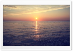 Sea Sunrise HD Wide Wallpaper for Widescreen