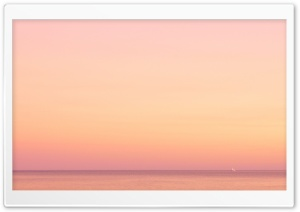 Sea Sunrise Skyline HD Wide Wallpaper for Widescreen