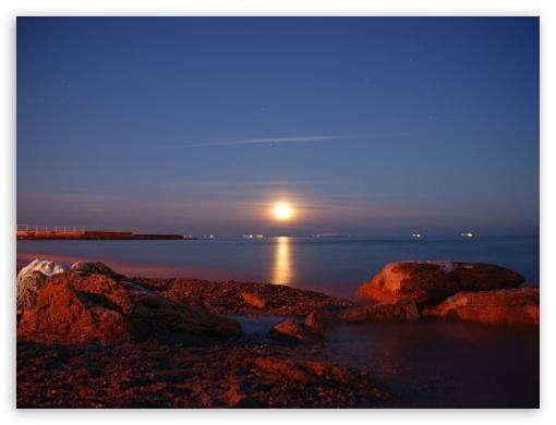 Sea sunset UltraHD Wallpaper for Standard 4:3 Fullscreen UXGA XGA SVGA ; iPad 1/2/Mini ; Mobile 4:3 - UXGA XGA SVGA ;