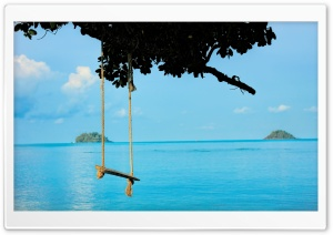 Sea Swing HD Wide Wallpaper for Widescreen