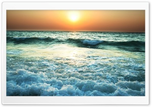 Sea Water HD Wide Wallpaper for Widescreen