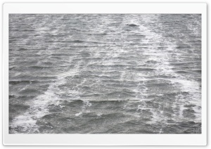 Sea Water Black And White HD Wide Wallpaper for Widescreen