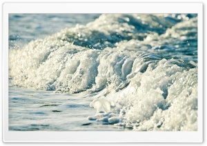 Sea Wave Close-Up HD Wide Wallpaper for Widescreen
