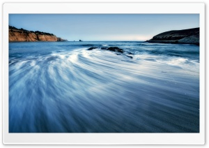 Sea Wave, Long Exposure HD Wide Wallpaper for Widescreen