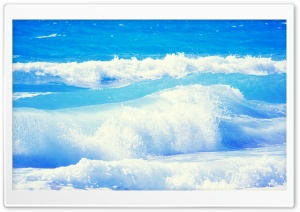 Sea Waves HD Wide Wallpaper for Widescreen
