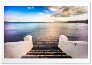 Seapoint, Dublin, Ireland HD Wide Wallpaper for 4K UHD Widescreen desktop & smartphone