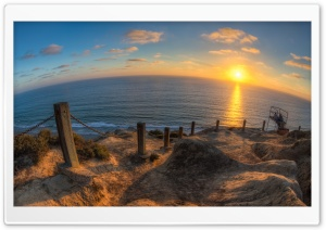Seascape FishEye HD Wide Wallpaper for 4K UHD Widescreen desktop & smartphone