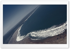 Seaside Aerial View HD Wide Wallpaper for Widescreen
