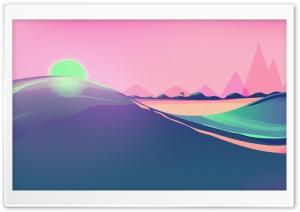 Seaside Illustration Ultra HD Wallpaper for 4K UHD Widescreen desktop, tablet & smartphone