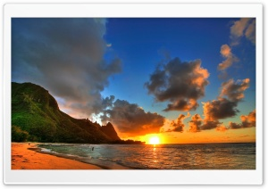 Seaside Sunrise HD Wide Wallpaper for Widescreen