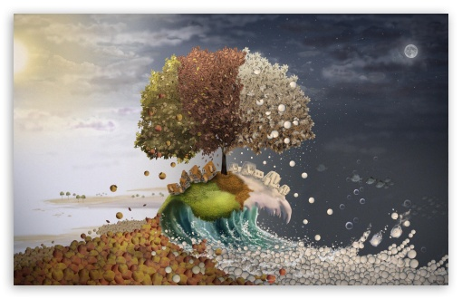 Seasons Surreal Art HD wallpaper for Wide 16:10 5:3 Widescreen WHXGA WQXGA WUXGA WXGA WGA ; HD 16:9 High Definition WQHD QWXGA 1080p 900p 720p QHD nHD ; Standard 4:3 5:4 3:2 Fullscreen UXGA XGA SVGA QSXGA SXGA DVGA HVGA HQVGA devices ( Apple PowerBook G4 iPhone 4 3G 3GS iPod Touch ) ; iPad 1/2/Mini ; Mobile 4:3 5:3 3:2 16:9 5:4 - UXGA XGA SVGA WGA DVGA HVGA HQVGA devices ( Apple PowerBook G4 iPhone 4 3G 3GS iPod Touch ) WQHD QWXGA 1080p 900p 720p QHD nHD QSXGA SXGA ;