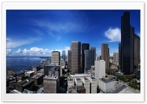 Seattle HD Wide Wallpaper for Widescreen