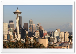 Seattle HD Wide Wallpaper for 4K UHD Widescreen desktop & smartphone