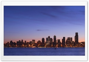 Seattle Skyline HD Wide Wallpaper for Widescreen
