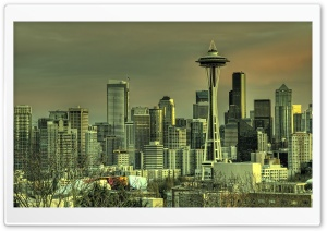 Seattle Tower HD Wide Wallpaper for Widescreen