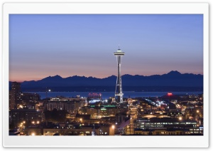 Seattle Tower Washington HD Wide Wallpaper for 4K UHD Widescreen desktop & smartphone