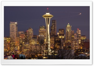 Seattle, Washington HD Wide Wallpaper for 4K UHD Widescreen desktop & smartphone