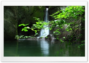Secret Waterfall HD Wide Wallpaper for Widescreen