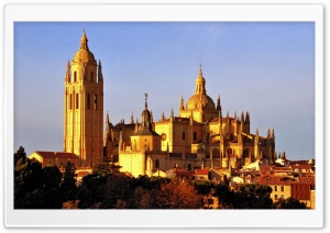 Segovia Cathedral HD Wide Wallpaper for 4K UHD Widescreen desktop & smartphone
