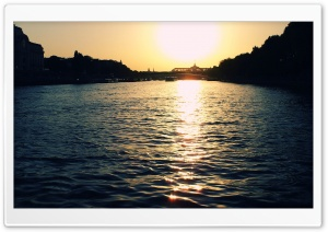 Seine HD Wide Wallpaper for Widescreen