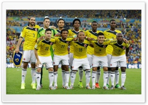 Seleccion Colombia Mundial Brasil 2014 HD Wide Wallpaper for 4K UHD Widescreen desktop & smartphone