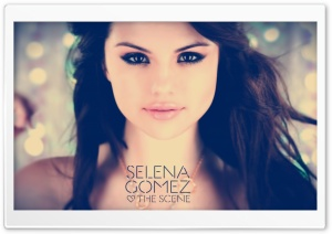 Selena Gomez and the Scene HD Wide Wallpaper for Widescreen