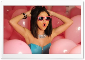 Selena Gomez Party HD Wide Wallpaper for Widescreen