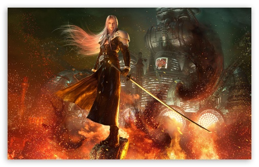 Sephiroth Ultra Hd Desktop Background Wallpaper For 4k Uhd Tv Tablet Smartphone