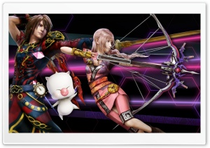 Serah and Noel HD Wide Wallpaper for Widescreen