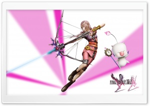 Serah DLC HD Wide Wallpaper for Widescreen