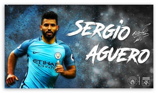 Sergio Aguero Manchester City Argentina 2016 17 4k Hd Desktop