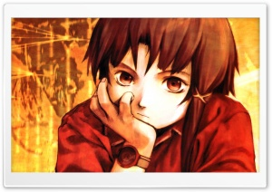Serial Experiments Lain Anime HD Wide Wallpaper for Widescreen
