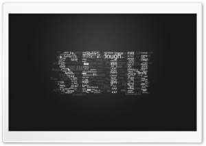 Seth Typo HD Wide Wallpaper for Widescreen