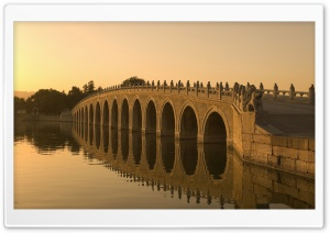 Seventeen Arch Bridge Ultra HD Wallpaper for 4K UHD Widescreen desktop, tablet & smartphone