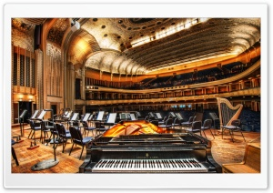 Severance Hall HD Wide Wallpaper for Widescreen