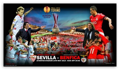 SEVILLA - BENFICA EUROPA LEAGUE FINAL 2014 ❤ 4K UHD Wallpaper for 4K UHD 16:9 Ultra High Definition 2160p 1440p 1080p 900p 720p ; Mobile 16:9 - 2160p 1440p 1080p 900p 720p ;